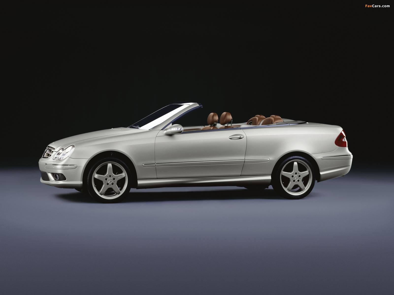 Mercedes-Benz CLK 500 Cabrio by Giorgio Armani (A209) 2004 images (1600 x 1200)
