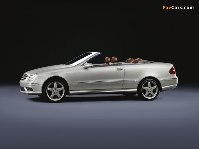 Mercedes-Benz CLK 500 Cabrio by Giorgio Armani (A209) 2004 images (640 x 480)