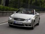 Mercedes-Benz CLK 500 Cabrio by Giorgio Armani (A209) 2004 pictures