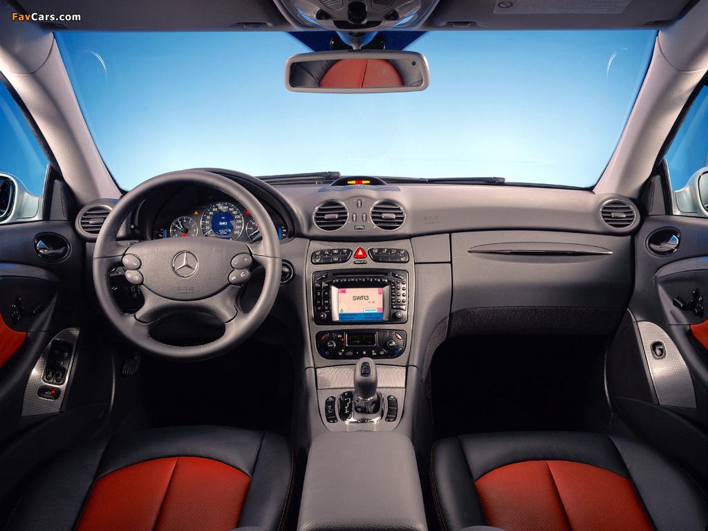 Mercedes-Benz CLK 55 AMG (C209) 2005–06 images (1024 x 768)