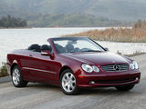 Mercedes-Benz CLK 350 US-spec (C209) 2005–09 images