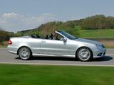 Mercedes-Benz CLK 55 AMG Cabrio (A209) 2005–06 images