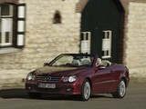 Mercedes-Benz CLK 320 CDI Cabrio (A209) 2005–10 photos