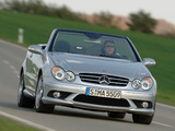Mercedes-Benz CLK 55 AMG Cabrio (A209) 2005–06 photos