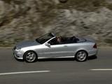 Mercedes-Benz CLK 55 AMG Cabrio (A209) 2005–06 photos