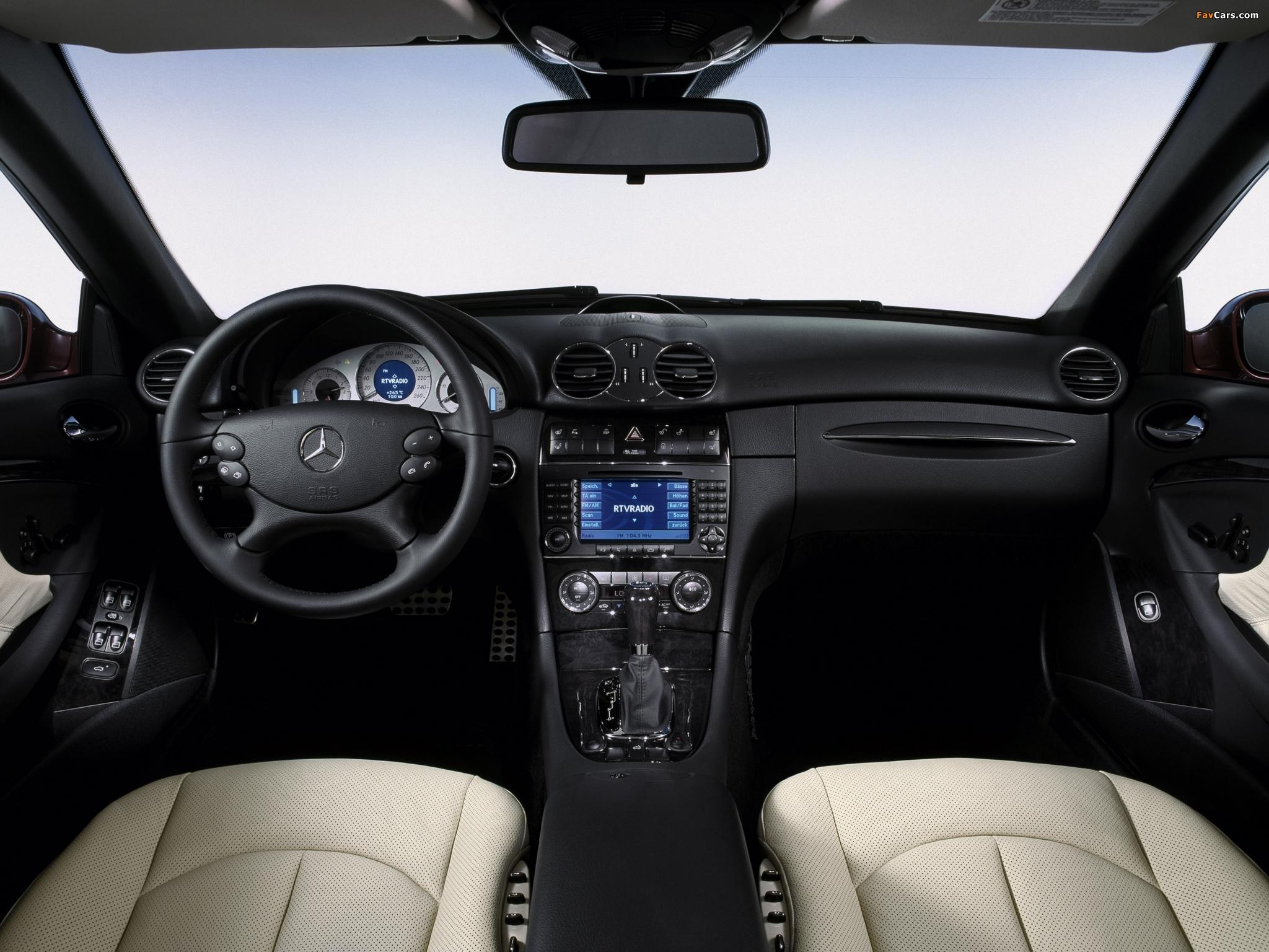 Mercedes-Benz CLK 320 CDI Cabrio (A209) 2005–10 photos (2048 x 1536)