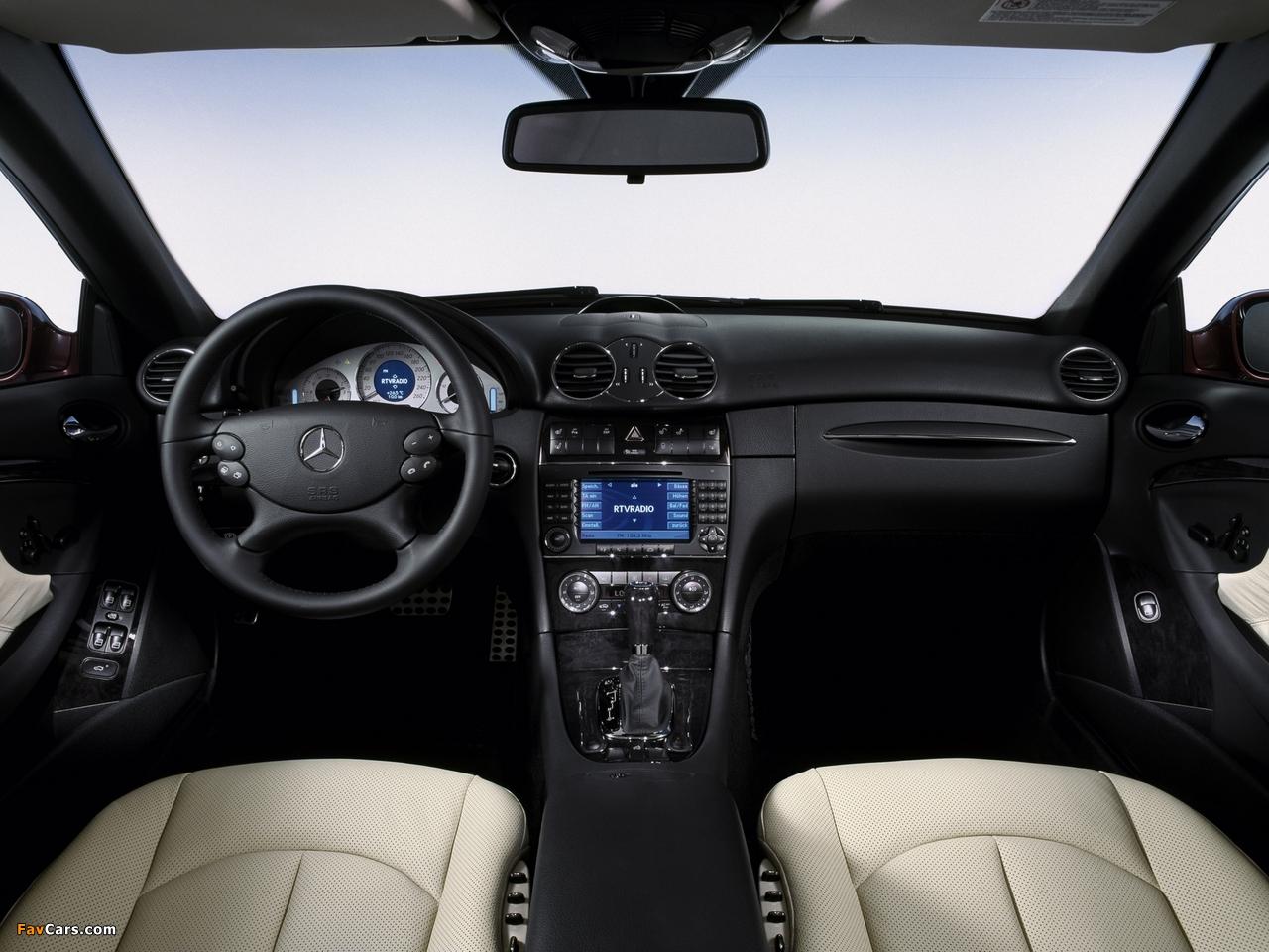 Mercedes-Benz CLK 320 CDI Cabrio (A209) 2005–10 photos (1280 x 960)