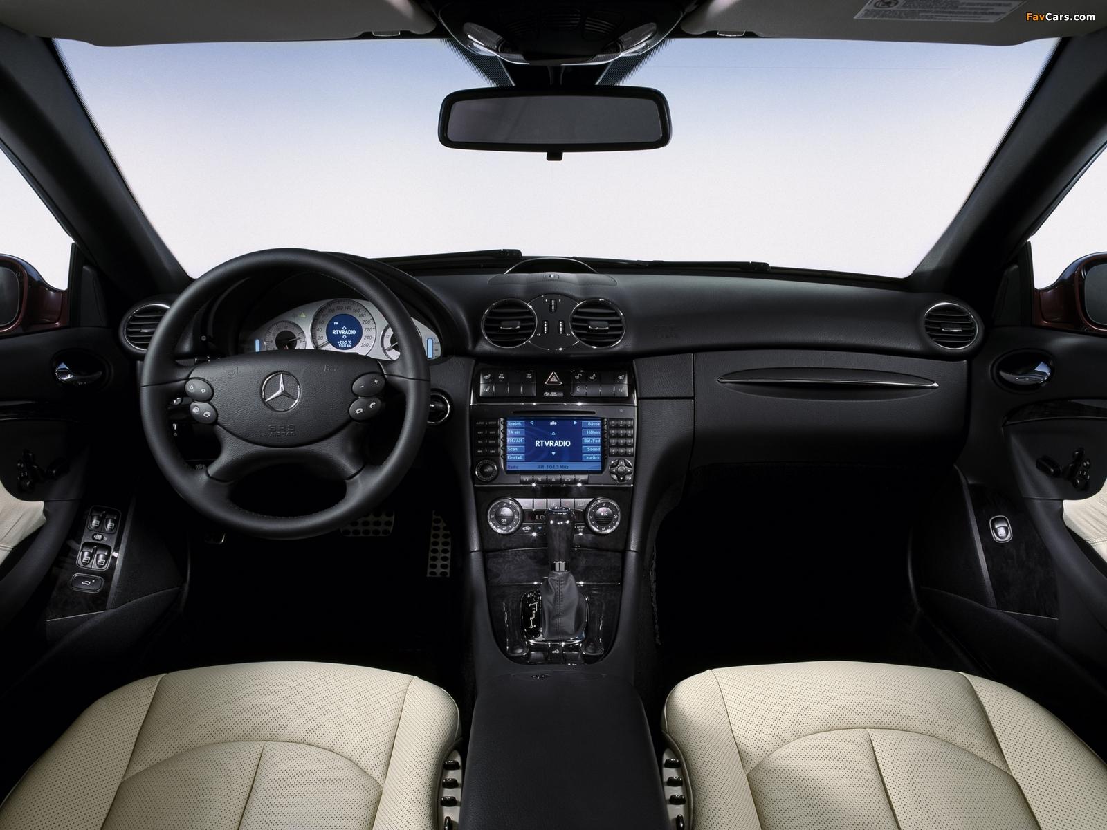 Mercedes-Benz CLK 320 CDI Cabrio (A209) 2005–10 photos (1600 x 1200)
