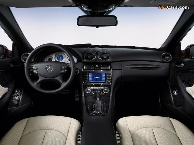 Mercedes-Benz CLK 320 CDI Cabrio (A209) 2005–10 photos (640 x 480)