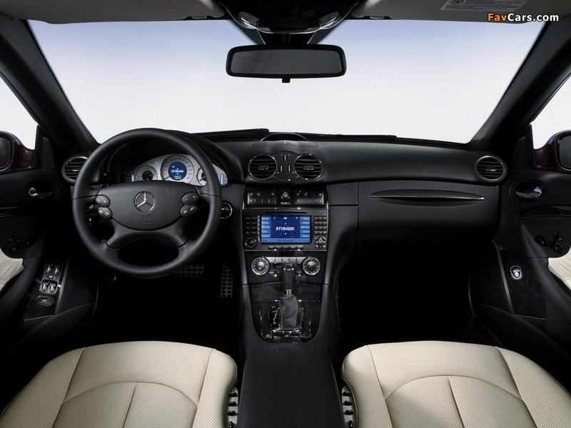 Mercedes-Benz CLK 320 CDI Cabrio (A209) 2005–10 photos (800 x 600)