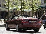 Mercedes-Benz CLK 320 CDI Cabrio (A209) 2005–10 pictures