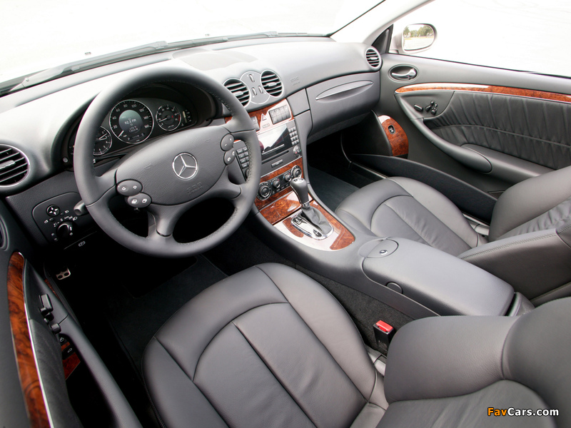 Mercedes-Benz CLK 350 US-spec (C209) 2005–09 pictures (800 x 600)