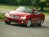 Mercedes-Benz CLK 350 Convertible US-spec (A209) 2005–10 pictures