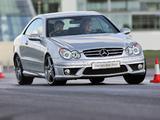 Mercedes-Benz CLK 63 AMG UK-spec (C209) 2006–09 images