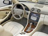 Mercedes-Benz CLK 550 Convertible (A209) 2006–10 images