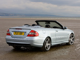 Mercedes-Benz CLK 63 AMG Cabrio UK-spec (A209) 2006–10 images