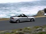 Mercedes-Benz CLK 63 AMG Cabrio (A209) 2006–10 images
