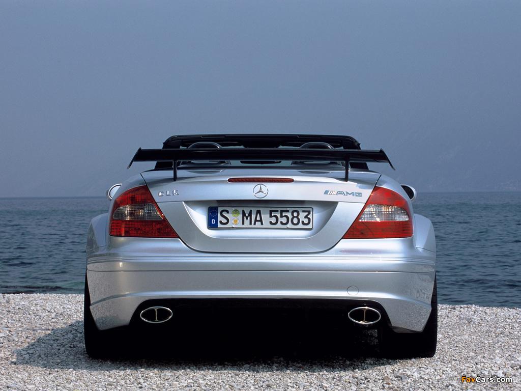 Mercedes-Benz CLK AMG DTM Cabrio (A209) 2006 photos (1024 x 768)
