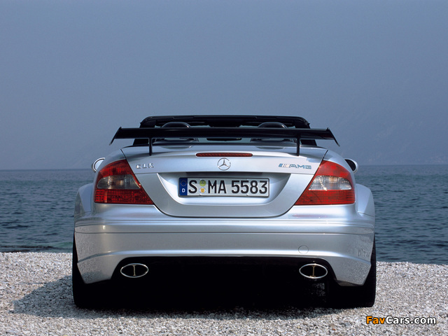 Mercedes-Benz CLK AMG DTM Cabrio (A209) 2006 photos (640 x 480)