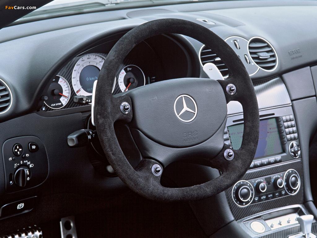 Mercedes-Benz CLK AMG DTM Cabrio (A209) 2006 pictures (1024 x 768)