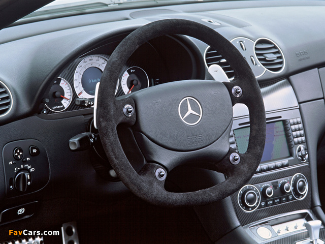 Mercedes-Benz CLK AMG DTM Cabrio (A209) 2006 pictures (640 x 480)