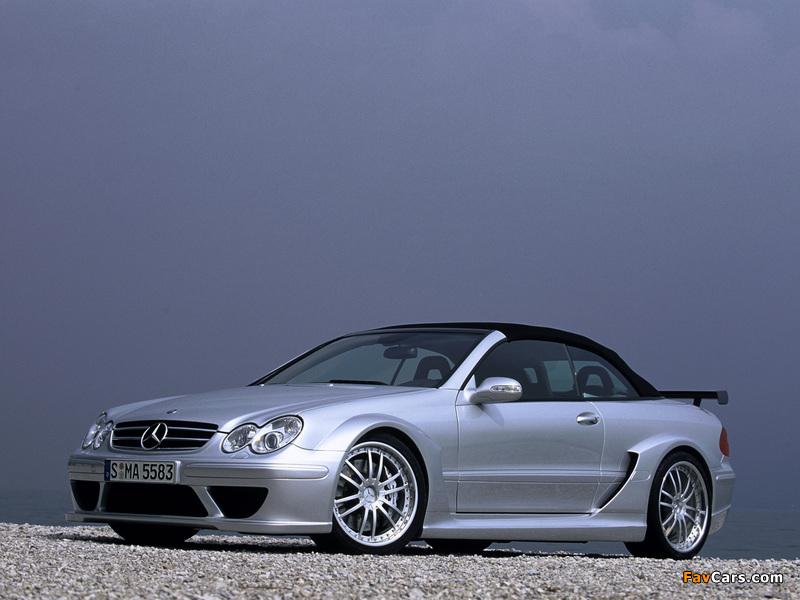 Mercedes-Benz CLK AMG DTM Cabrio (A209) 2006 pictures (800 x 600)