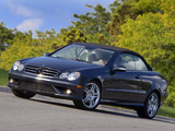 Mercedes-Benz CLK 550 Convertible (A209) 2006–10 pictures