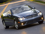 Mercedes-Benz CLK 550 Convertible (A209) 2006–10 wallpapers