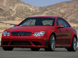 Mercedes-Benz CLK 63 AMG Black Series US-spec (C209) 2007–09 pictures