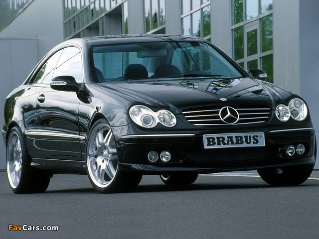 Brabus Mercedes-Benz CLK-Klasse (C209) photos (640 x 480)