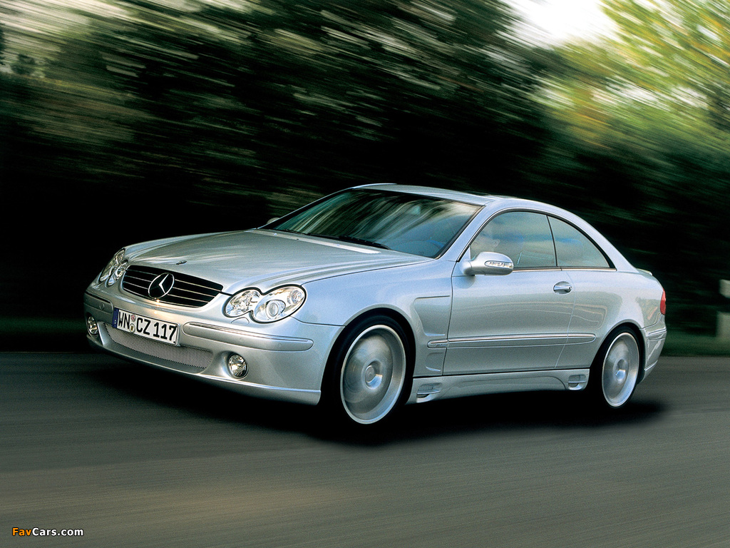 Lorinser Mercedes-Benz CLK-Klasse (C209) wallpapers (1024 x 768)