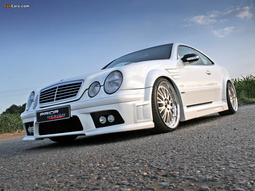 Prior-Design Mercedes-Benz CLK-Klasse (C208) wallpapers (1024 x 768)