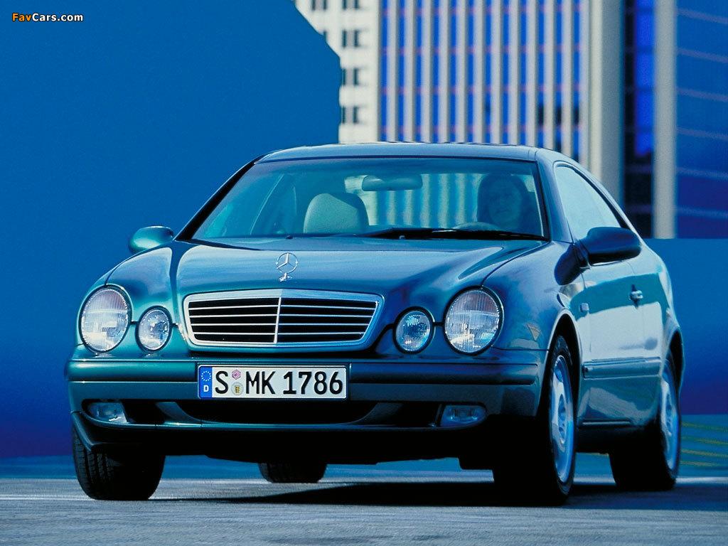 Photos of Mercedes-Benz CLK-Klasse (C208) 1997–2002 (1024 x 768)