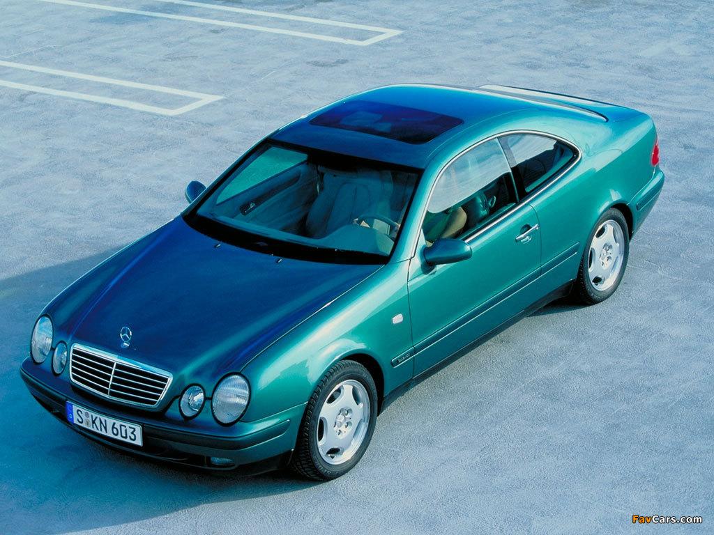 Photos of Mercedes-Benz CLK 320 (C208) 1997–2002 (1024 x 768)
