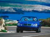 Photos of Mercedes-Benz CLK 320 Cabrio (A208) 1998–2002
