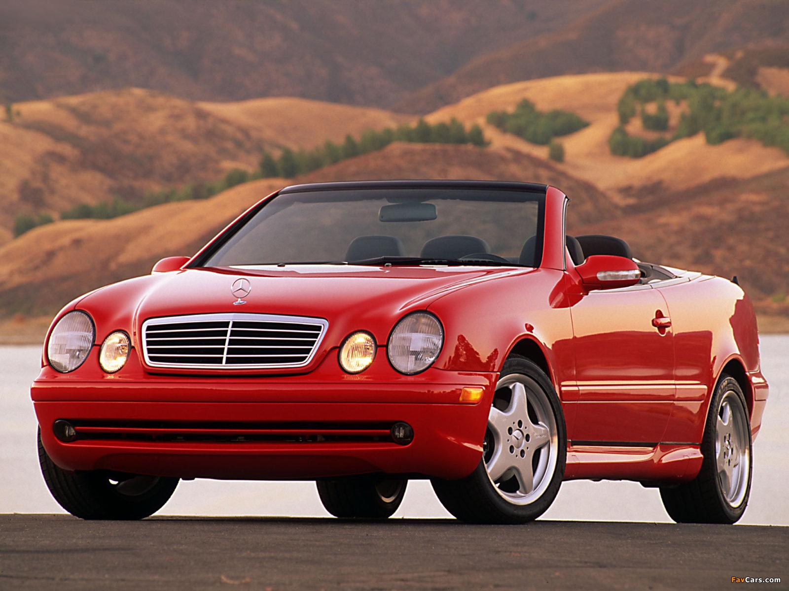 Photos of Mercedes-Benz CLK 430 Cabrio US-spec (A208) 1998–2002 (1600 x 1200)