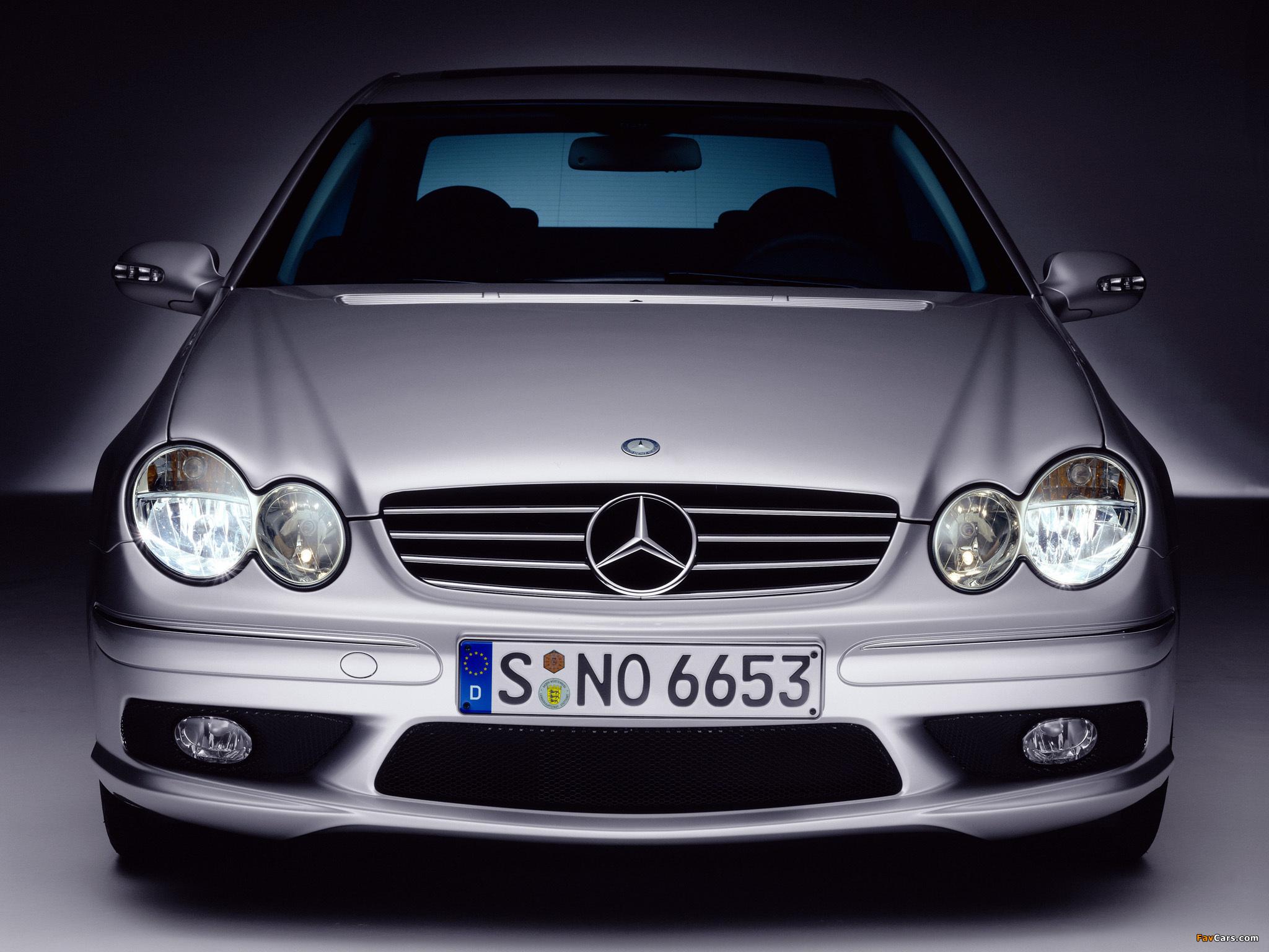 Photos of Mercedes-Benz CLK 55 AMG (C209) 2002–05 (2048 x 1536)