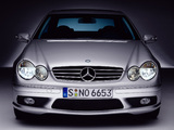 Photos of Mercedes-Benz CLK 55 AMG (C209) 2002–05