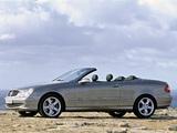 Photos of Mercedes-Benz CLK 500 Cabrio (A209) 2003–05