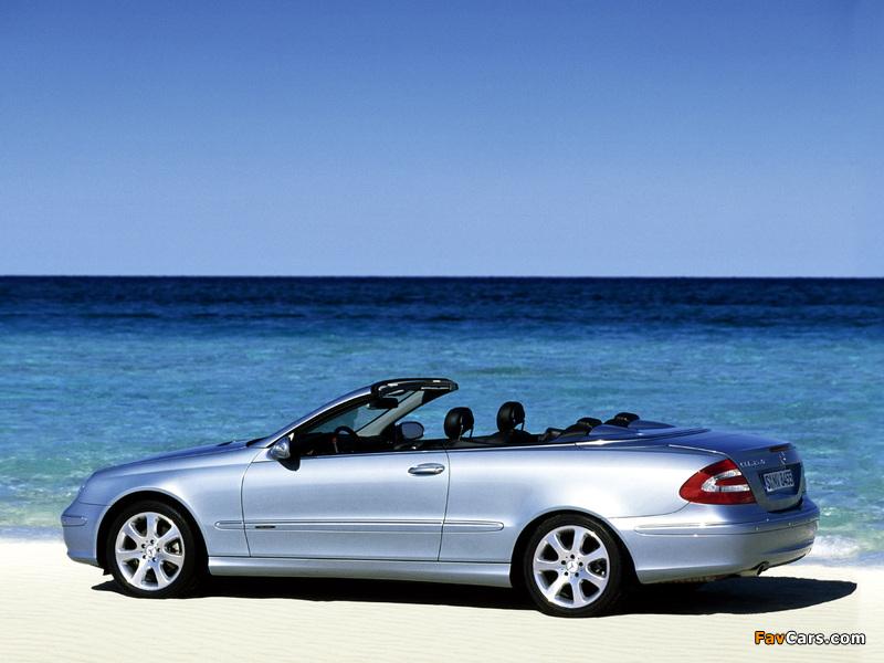 Photos of Mercedes-Benz CLK 240 Cabrio (A209) 2003–05 (800 x 600)