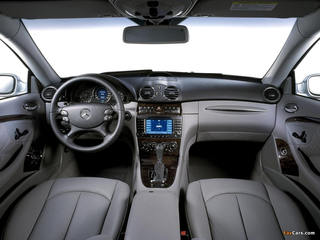 Photos of Mercedes-Benz CLK 350 (C209) 2005–09 (1024 x 768)