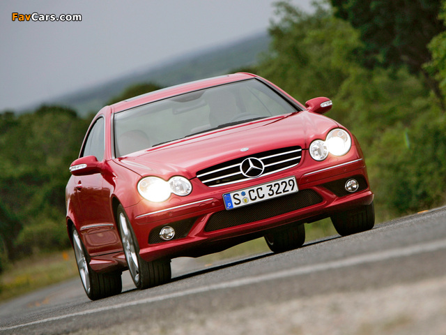 Photos of Mercedes-Benz CLK 320 CDI AMG Sports Package (C209) 2005–09 (640 x 480)