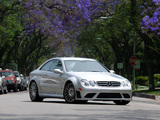 Photos of Mercedes-Benz CLK 63 AMG Black Series US-spec (C209) 2007–09