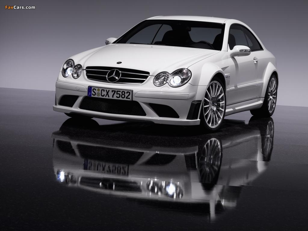 Photos of Mercedes-Benz CLK 63 AMG Black Series (C209) 2007–09 (1024 x 768)