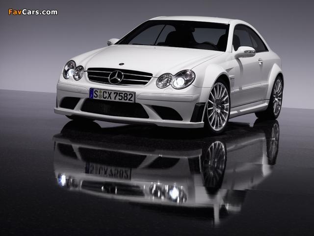 Photos of Mercedes-Benz CLK 63 AMG Black Series (C209) 2007–09 (640 x 480)