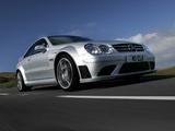 Photos of Mercedes-Benz CLK 63 AMG Black Series UK-spec (C209) 2007–09