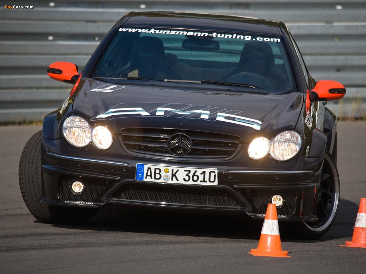 Photos of Kunzmann Mercedes-Benz CLK-Klasse (C209) (1280 x 960)