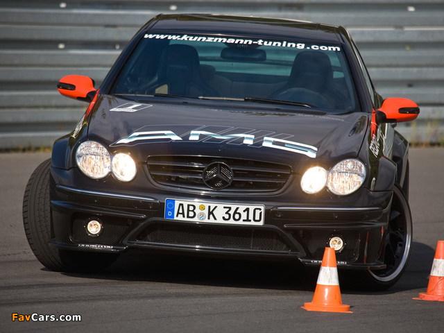 Photos of Kunzmann Mercedes-Benz CLK-Klasse (C209) (640 x 480)