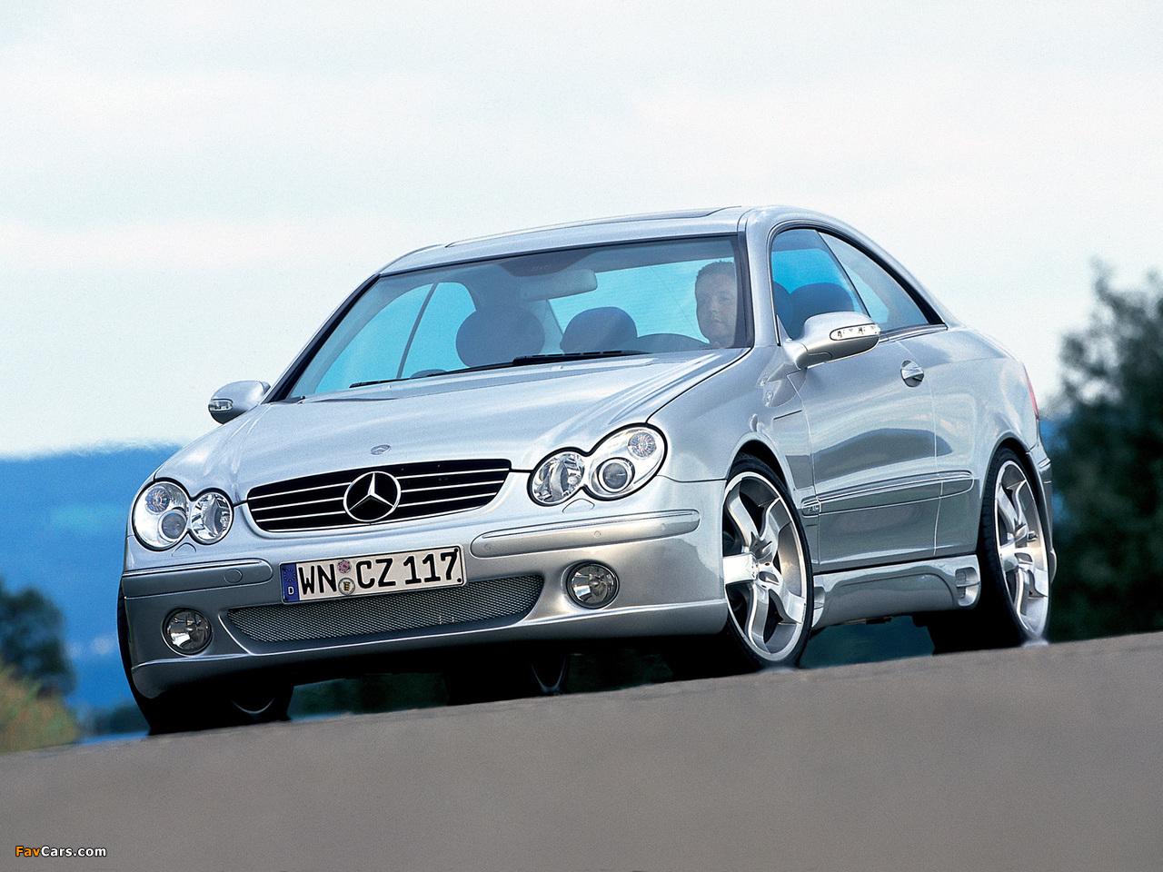 Pictures of Lorinser Mercedes-Benz CLK-Klasse (C209) (1280 x 960)