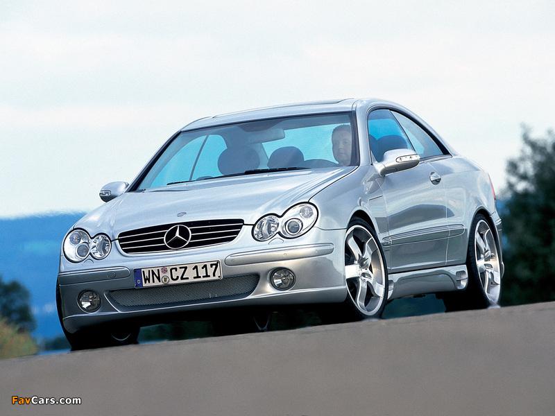 Pictures of Lorinser Mercedes-Benz CLK-Klasse (C209) (800 x 600)
